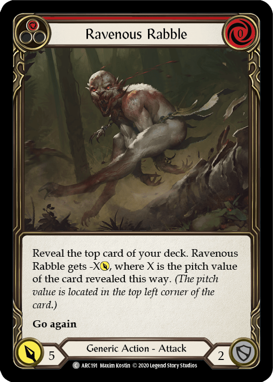 Ravenous Rabble (Red)
