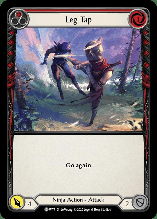 Leg Tap (Red)