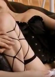 pretty-sex-hungry-babe-in-fishnet-puss … ndled-and-squirting