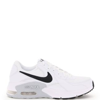 NIKE NIKE AIR MAX EXCEE SNEAKERS 7,5 White, Black Technical, Leather