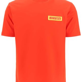 JUNYA WATANABE PIRELLI PATCH T-SHIRT S Red Cotton