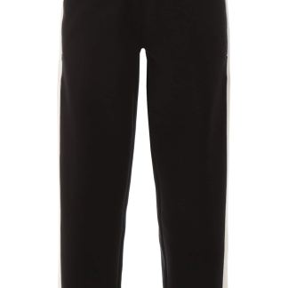 NEIL BARRETT JOGGERS WITH SIDE BANDS XS Black, White