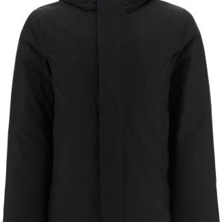 WOOLRICH GORE-TEX HOODED PARKA S Black Technical