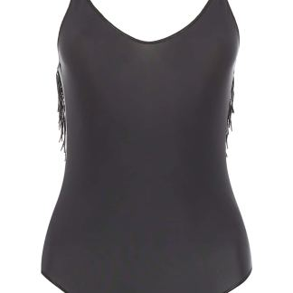 OSÉREE PEARLS SWIMSUIT S Black