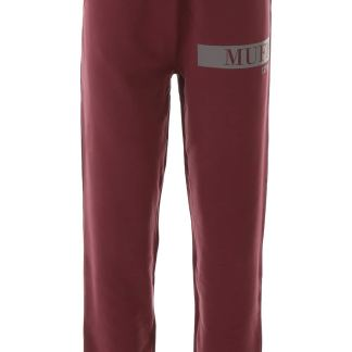 MUF10 LOGO JOGGERS M Red Cotton