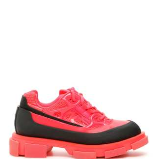 BOTH GAO RUNNER SNEAKERS 36 Fuchsia, Black Leather, Technical