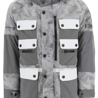 COLMAR AGE MULTIPOCKET JACKET S Grey, Black, White Technical
