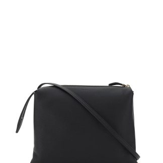 THE ROW NU TWIN LEATHER BAG OS Black Leather