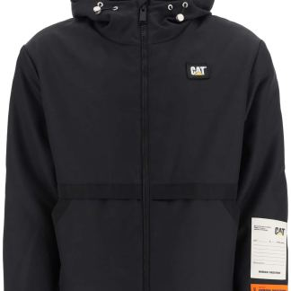 HERON PRESTON WINDBREAKER JACKET WITH PATCHES S Black Technical
