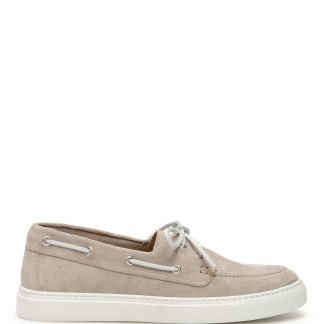 HENDERSON SUEDE LOAFERS 40 Beige, Grey Leather