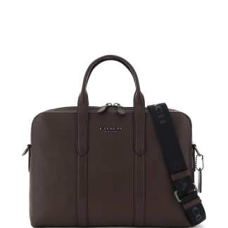 COACH 0 OS Brown Leather