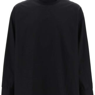 FEAROFGODZEGNA ZEGNA X FEAR OF GOD MINIMAL OVERSIZED SHIRT M Black Cotton