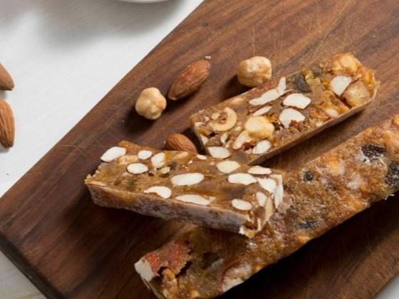 ricetta panforte Siena, assaggi di panforte su tagliere