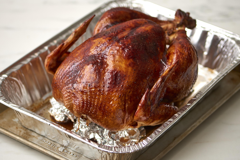 roast a turkey without a roasting rack