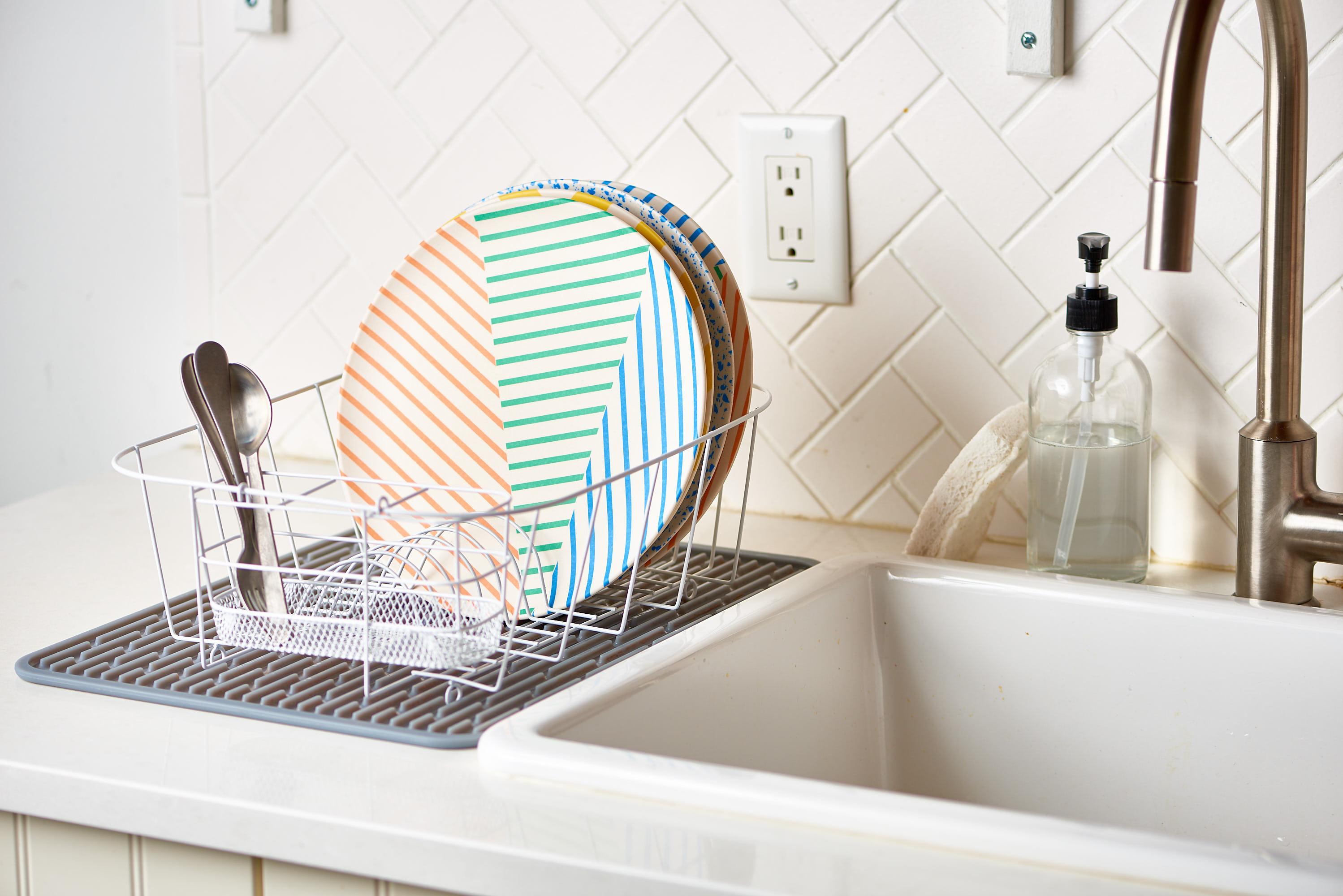 surprising uses for an old dish rack