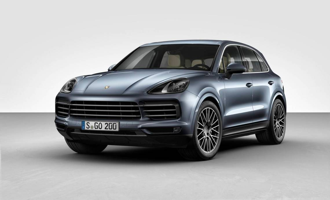 official: 2018 porsche cayenne - gtspirit