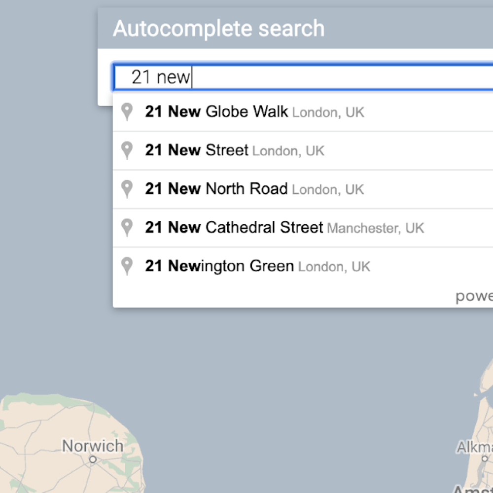 AutocompleteSearch