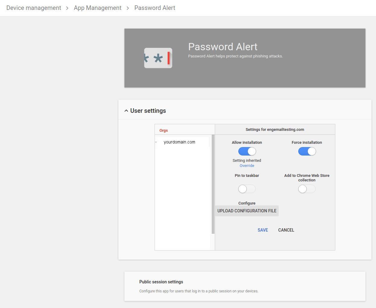 Image 2: phishing post