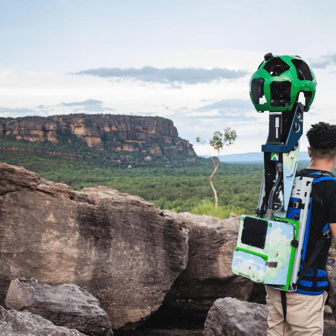 Street View Trekker at Nawurlandja