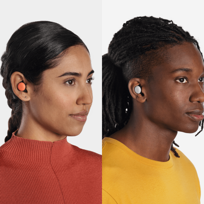 Multiple people wearing Pixel Buds