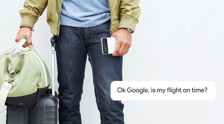 Go up, up and away along with your Google Assistant