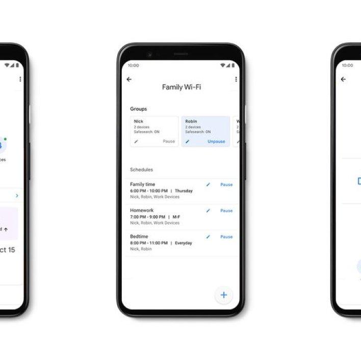 App controls on Google Wifi