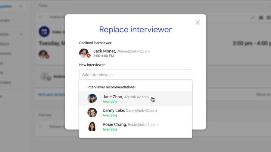 Google hire platform featured image
