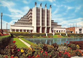 Belgium Bruxelles Palais du Centenaire, Brussels Palace of the ...