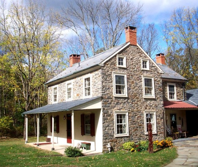 Stone Farmhouse For Sale In Bucks County Buckscountystonefarmhouse Bucks County Farmhouse