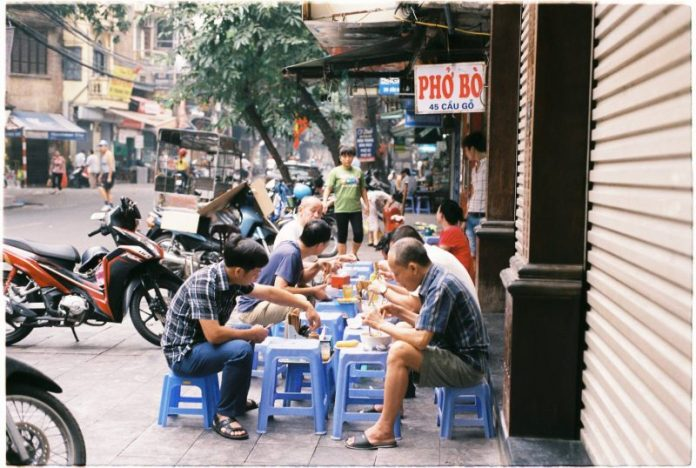 Hanoi is the best city for street food.