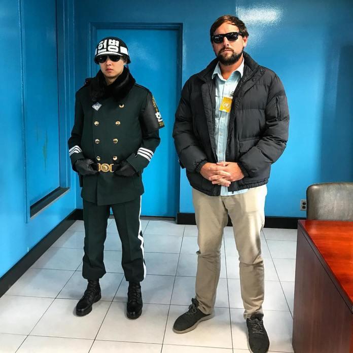 a tour to the Korean DMZ