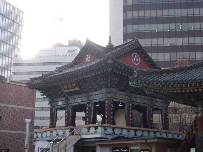 Jogyesa temple guide