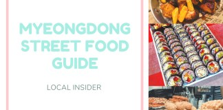 myeongdong streetfood guide