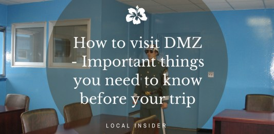 how to visit dmz
