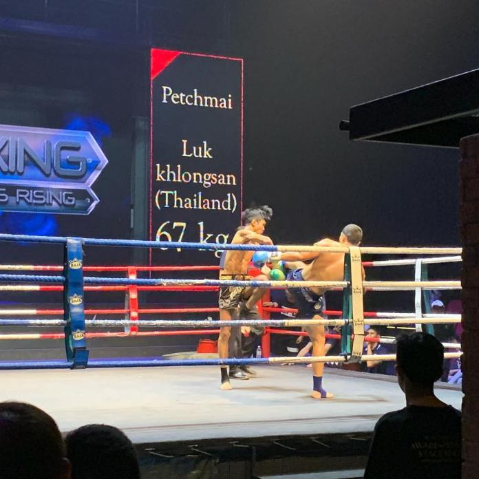 muay thai live match warriors rising