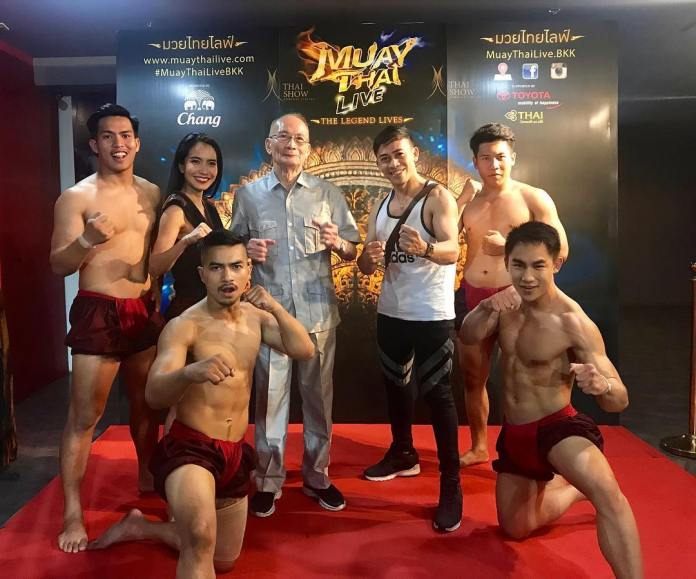 Muay Thai Live take pictures