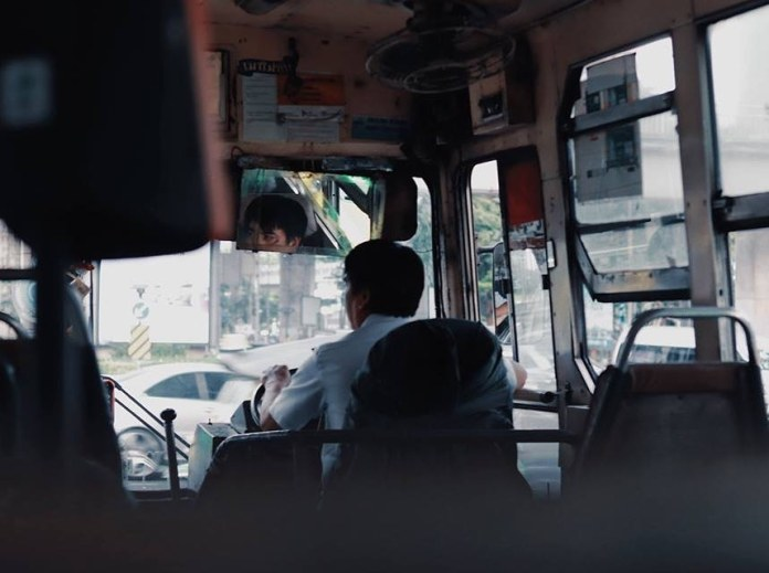 Photo of a bus driver in Thailand