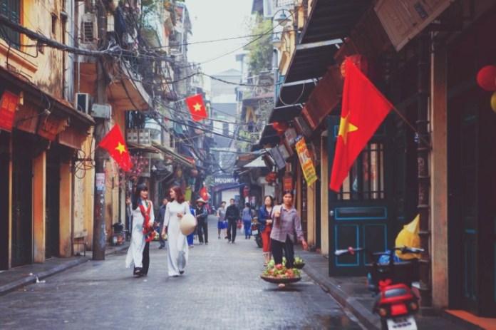 올드 퀄터(Old Quarter – 하노이 (Hanoi)의 상징