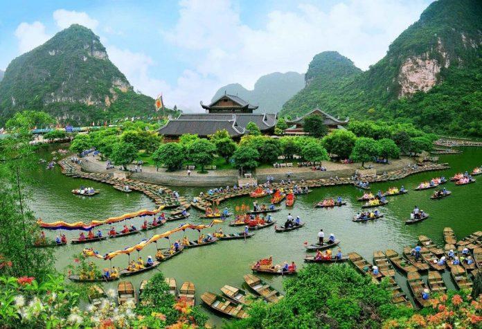 트랑안 닌빈 (Trang An Ninh Binh)도에 배여행