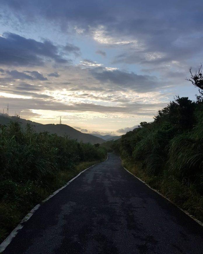 đường đến công viên quốc gia dương minh sơn