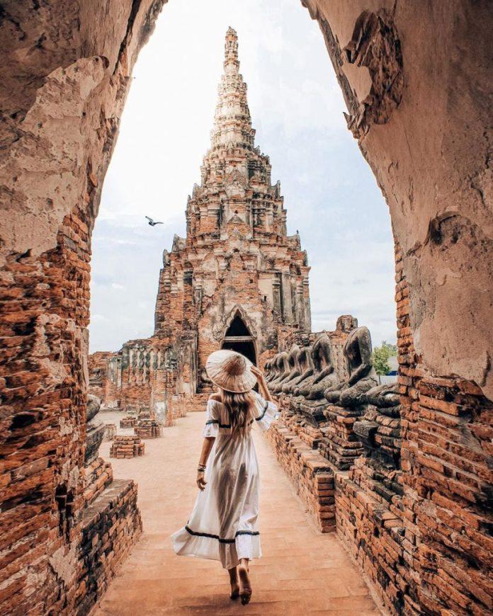 đền ratchanurana ayutthaya