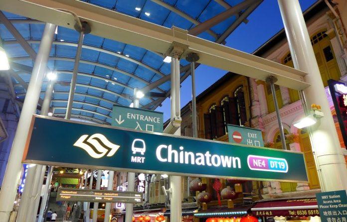 Đi từ China Town đến GBTB
