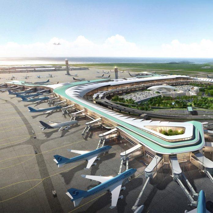 sân bay incheon hàn quốc