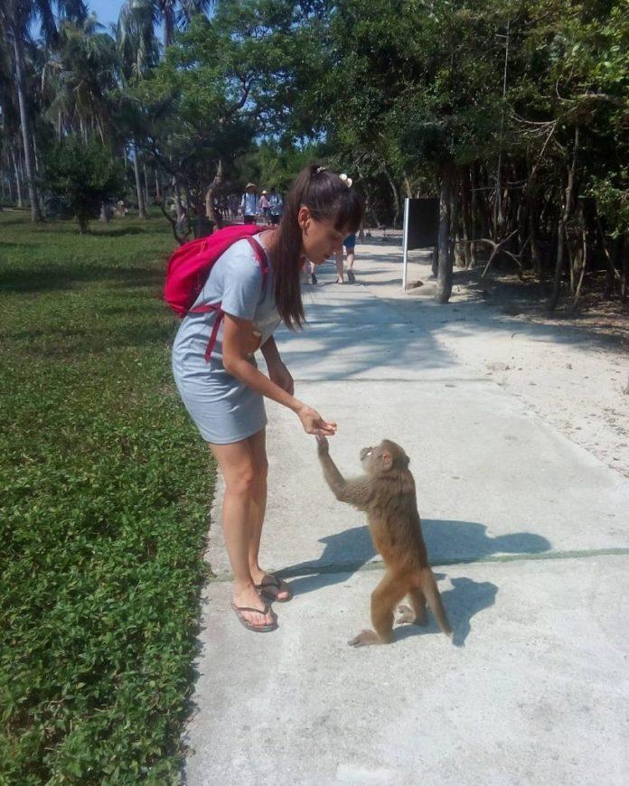 đảo khỉ du lịch nha trang