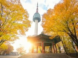 Tháp Namsan hay còn gọi N Seoul Tower