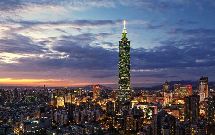 Taipei 101 về đêm