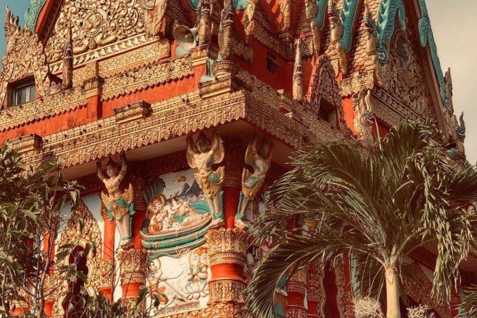 Ghositaram - chùa Miền Nam