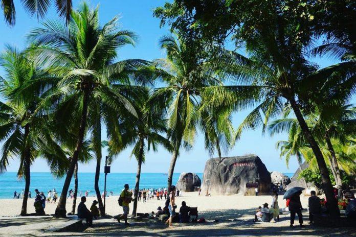 Bãi biển Thiên Nhai Hải Giác
