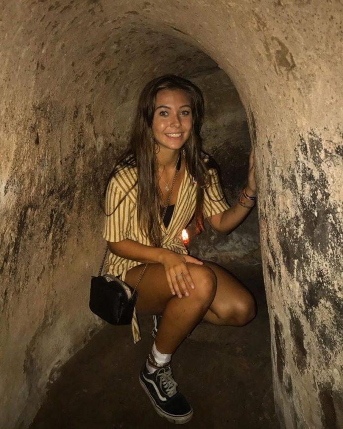 Bên trong hầm địa đạo Củ Chi