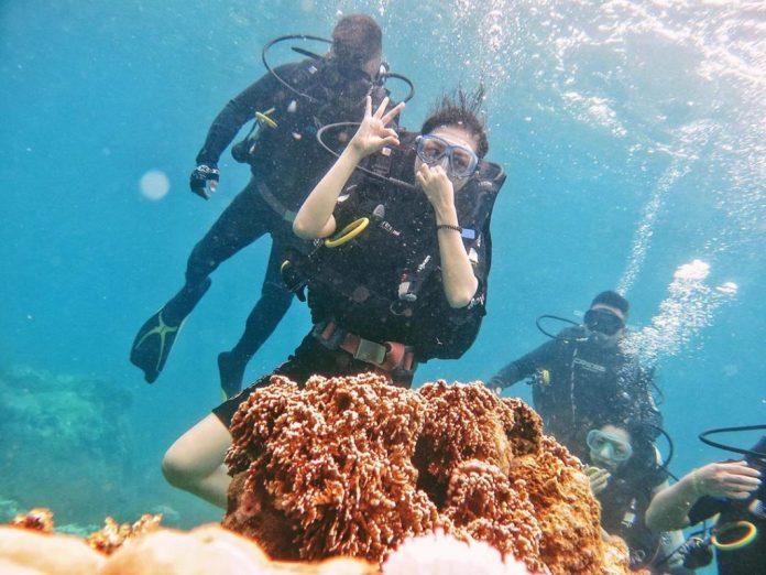 lặn ngắm san hô hòn Mun